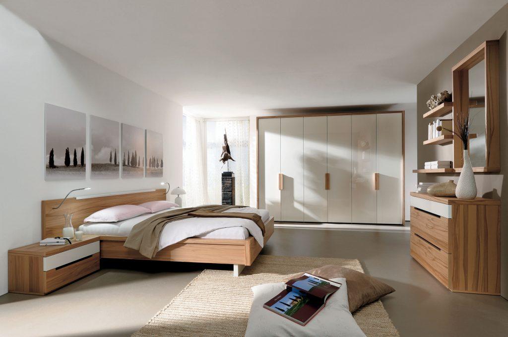 Huelsta moebel hulsta furniture ceposi schlafzimmer sleeping strukturbuche hochglanz weiss - Schlafzimmer hulsta ...